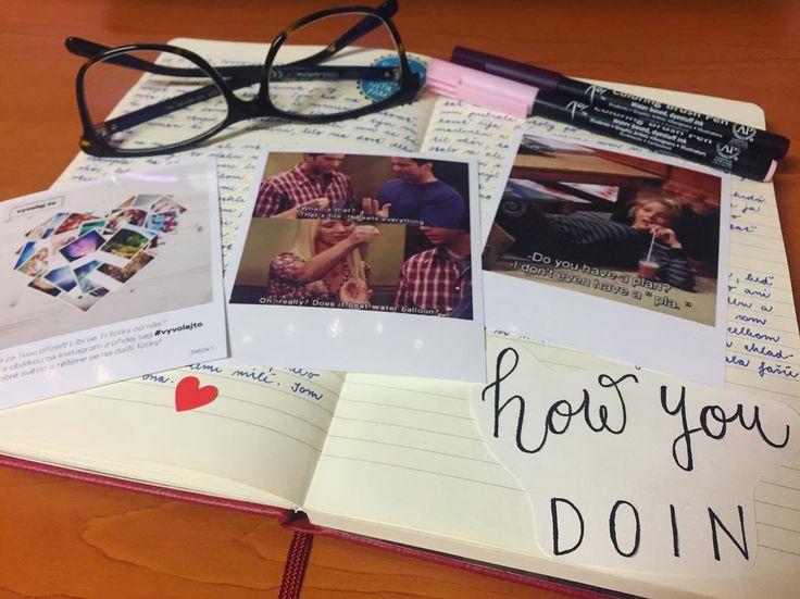 "Páči sa mi to: 37, komentáre: 1 – Dominika Imrichová (@ms_domca) na Instagrame: ""How you doin?  #friends #vyvolejto #journal #journaling #journaladdict #creativejournaling #doodle…"""