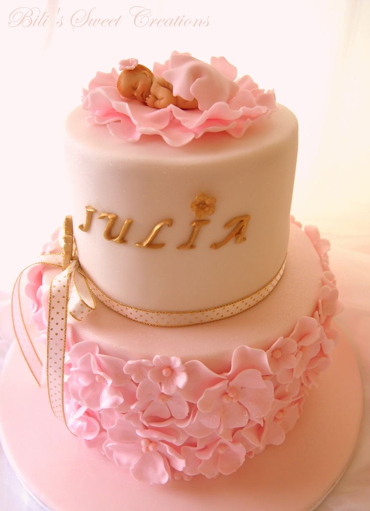 Best 25+ Christening cake girls ideas on Pinterest ...