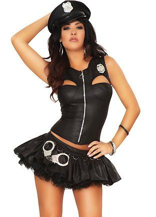 3wishes playful po po costume naughty cop costumes for women 3wishes http - Naughty Costumes For Halloween