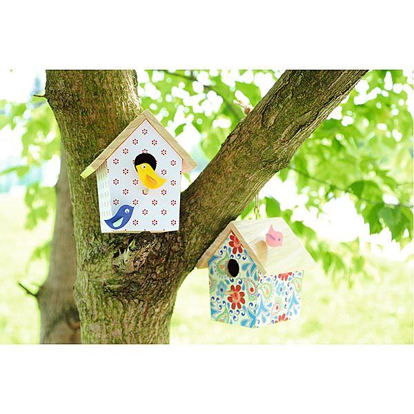 Domki dla ptaków DIY  http://www.mojebambino.pl/edukacja-artystyczna/10430-domki-dla-ptaszkow.html