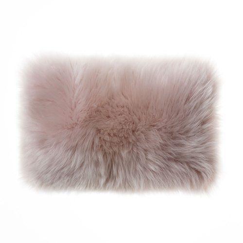 Sheepskin Blush Long Cushion