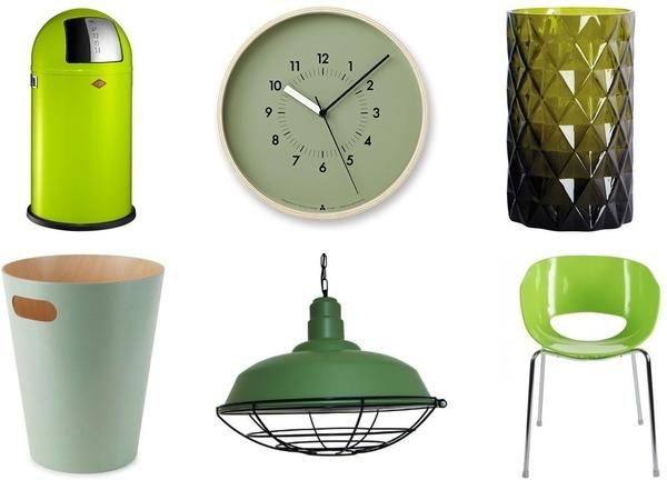 Colour watch: Shades of Green