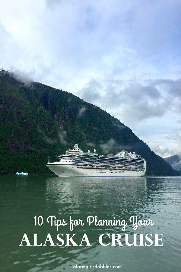 10 Tips for Planning Your Alaska Cruise from afarmgirlsdabbles.com #AFDtravel #Alaska