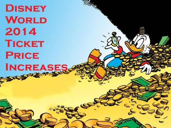 Disney World Increases Ticket Prices for 2014. Get a full listing at PixieDustDaily.com