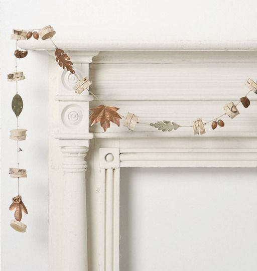 Handmade Seasonal Decorations to Buy Once & Use Every Year. I <3 the Mustard Pom Pom Flowers - CRL
