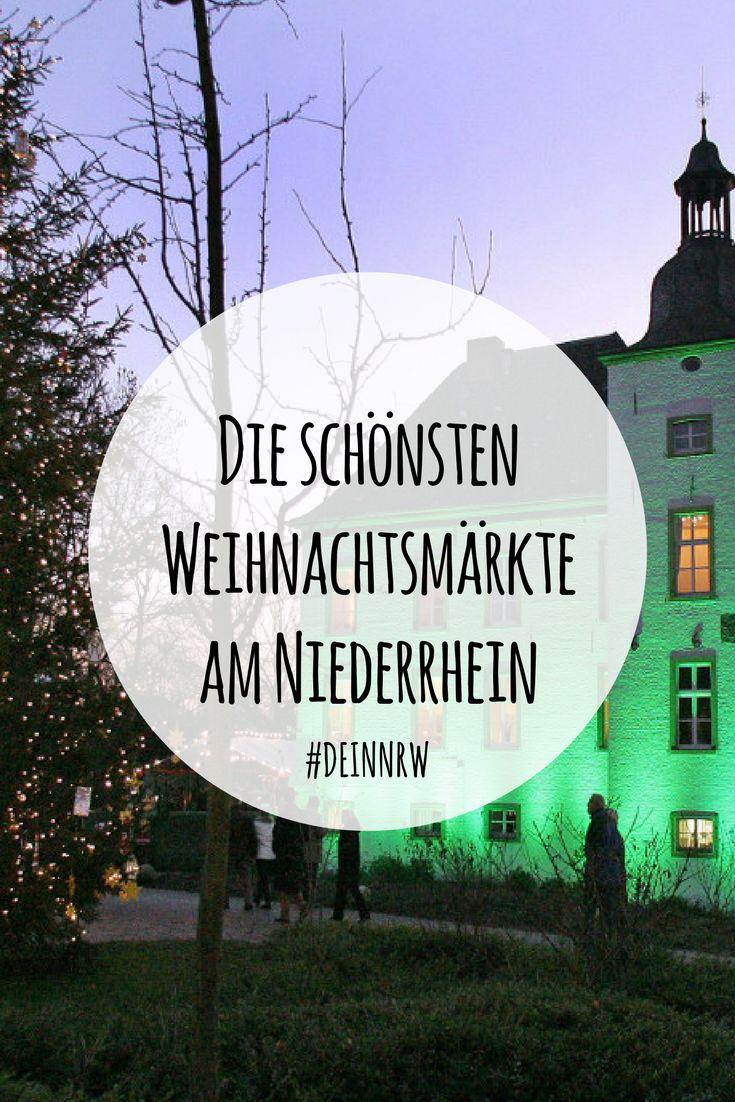 In unserer Top-Liste findest Du die schönsten Weihnachtsmärkte am Niederrhein. Wie wäre es mit einem Tagesausflug oder gleich einem ganzen Wochenendtrip zu Weihnachten in die schöne Region in Deinem NRW? #deinnrw ©️ Stadt Voerde