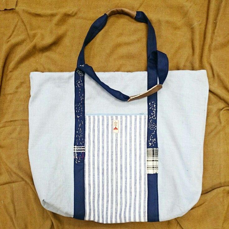 Japanese boro stitched bag  www.etsy.com/shop/itchyichi