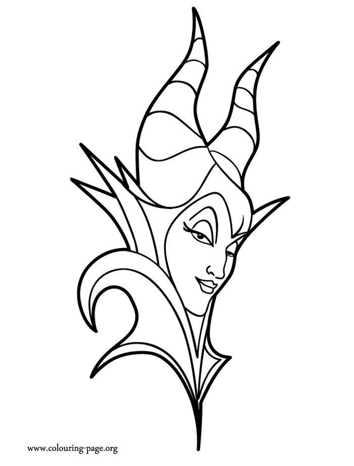 come check out this beautiful and printable disney maleficent coloring page just print it and - Coloring Paper