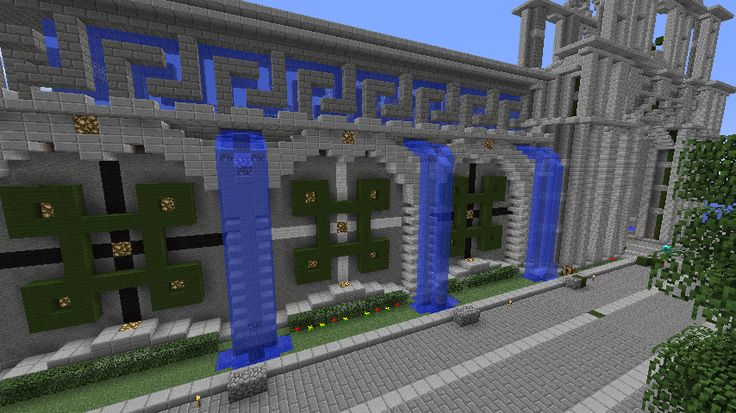 Cool Minecraft Castle Walls