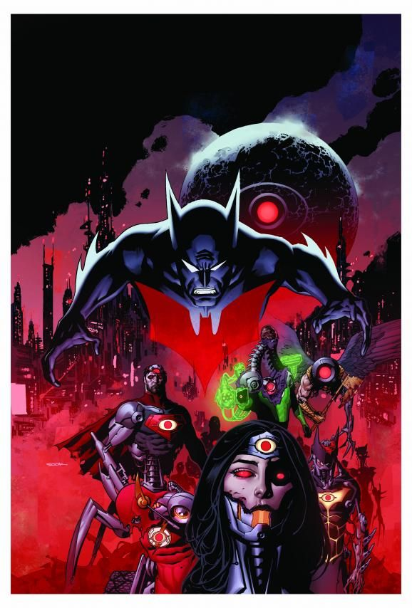 The New 52: Future Ends by Ryan Sook (more)