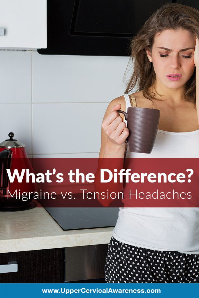 Migraines vs. Tension Headaches - What's the Difference ...