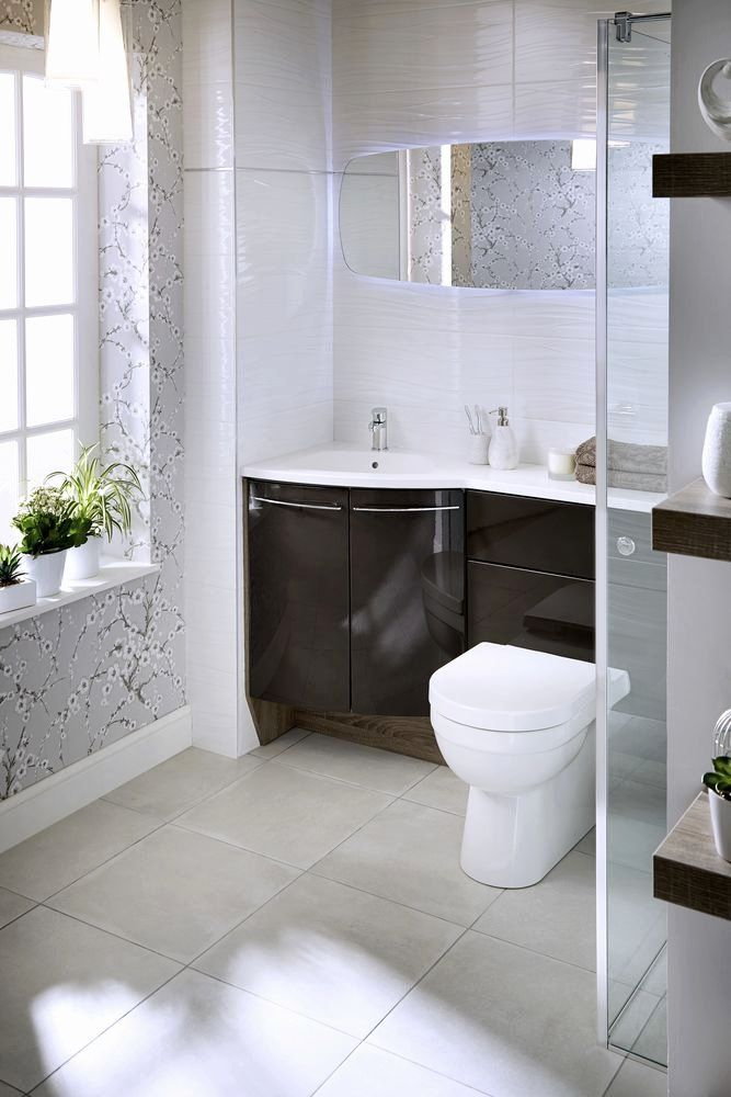 Fitted Bathroom Furniture White Gloss Di 2020
