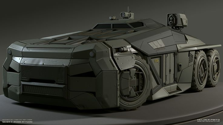 Inspired by the awesome art from Scott Robertson, and made specially for the Eat3D HP vehicle modeling competition. www.helderpinto.com