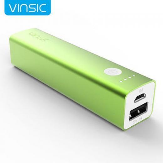 Vinsic 3200mah Usb Portable External Battery Charger Power Bank For Cell Phone Universal Vspb101g 1 China Green