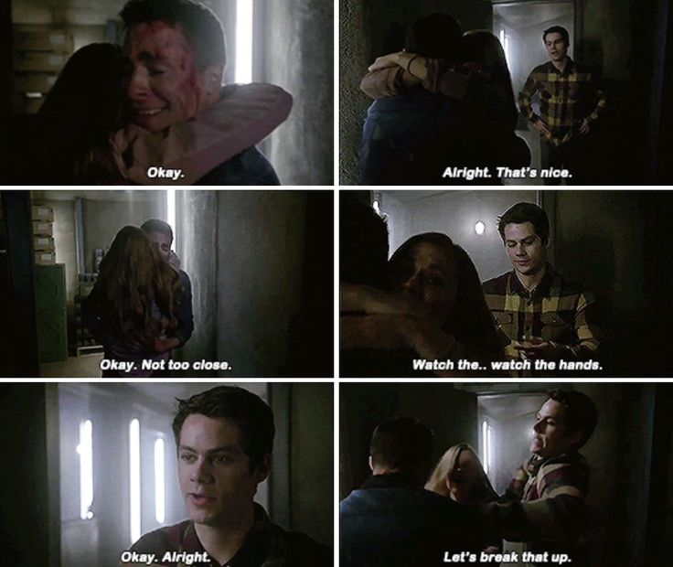 Get Jackson the hell away from her Stiles. And was he really going to feel her up in front of Stiles. He even has a bf.