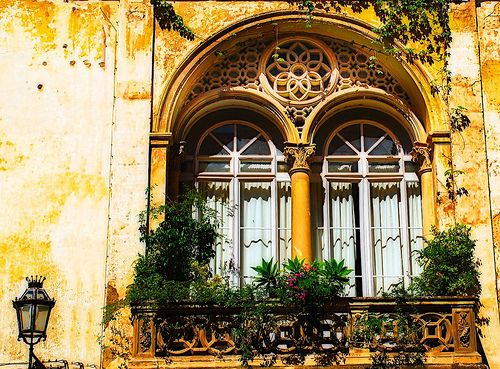 snapshot of one of the buildings where i studied abroad, in lecce, italy. yes, the entire city was this beautiful.