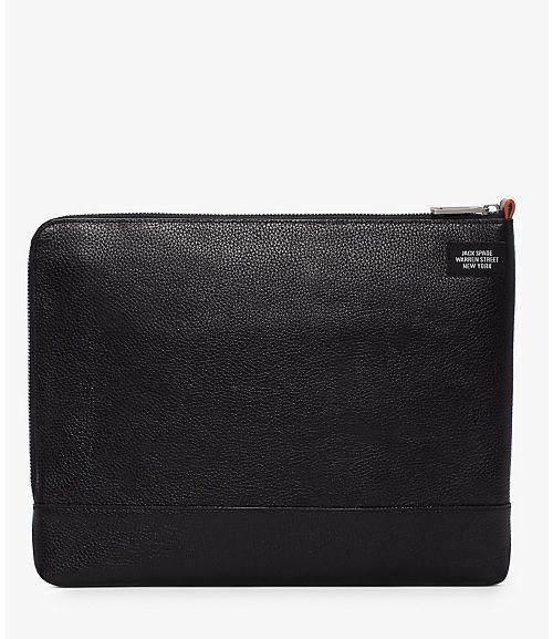 Mason Leather Full Zip Portfolio - JackSpade
