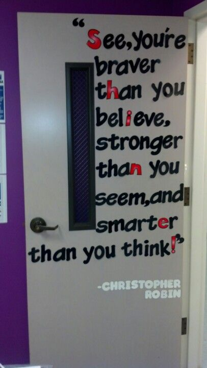 25 creative classroom door ideas to discover and try on for Decoration quotes sayings