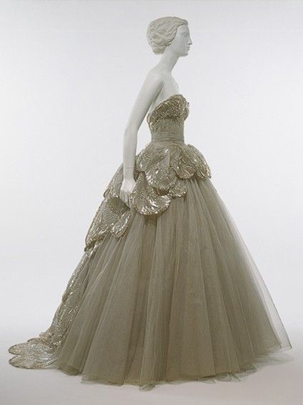 Vintage Dior gown... You know... For that ball I'm going to on Friday.