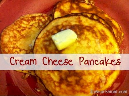 Cream Cheese Pancakes, I made these this morning and they were really ...