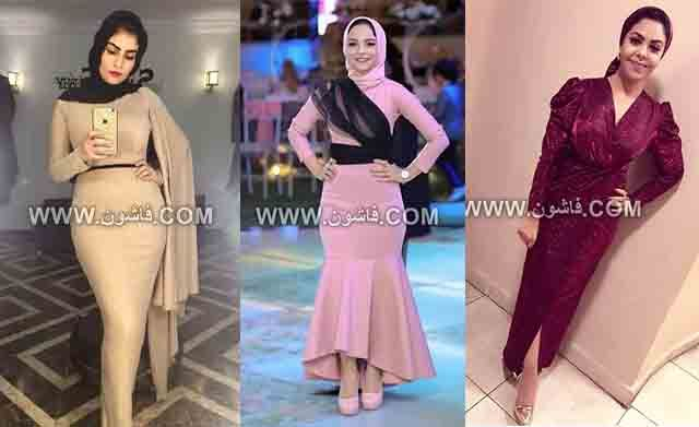شاهدى صور فساتين سواريه بسيطة وشيك للمحجبات Soiree Dress Dresses Formal Dresses