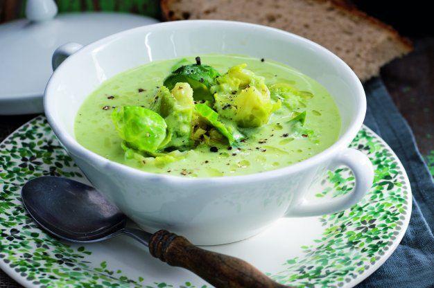 Bavorská kapustičková polévka