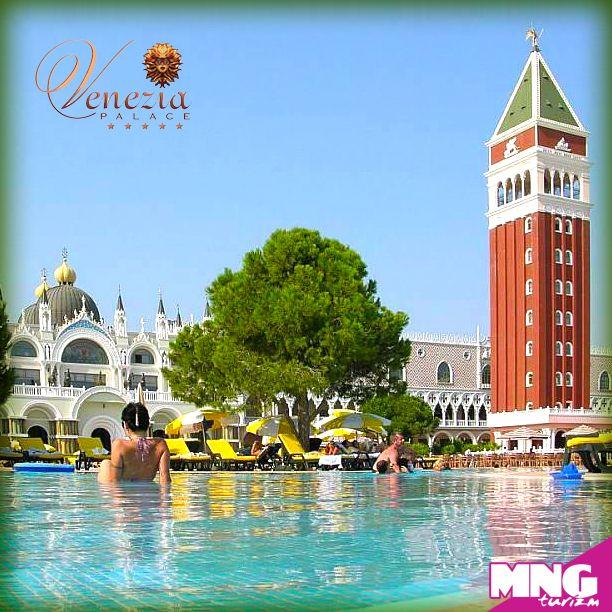 Venedik Antalya'ya geldi! Venezia Palace'da ultra herşey dahil konaklamalar %35'e varan indirimlerle. 0-12,99 yaş 1. çocuk, 0-8,99 yaş 2. çocuk ücretsiz. bit.ly/mngturizm-venezia-palace-deluxe-resort-hotel  #mngturizm #tatiliste #VeneziaPalace