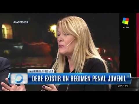 "Margarita Stolbizer en ""La Cornisa"": ""Debe existir un régimen penal juve..."