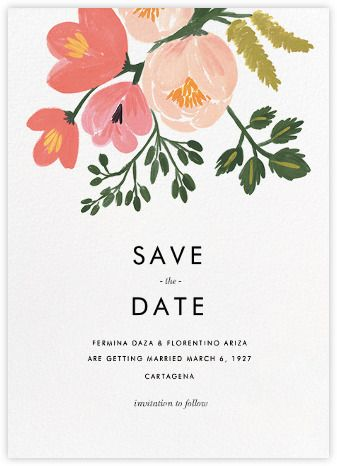Pastel Petals (Save the Date) - Paperless Post