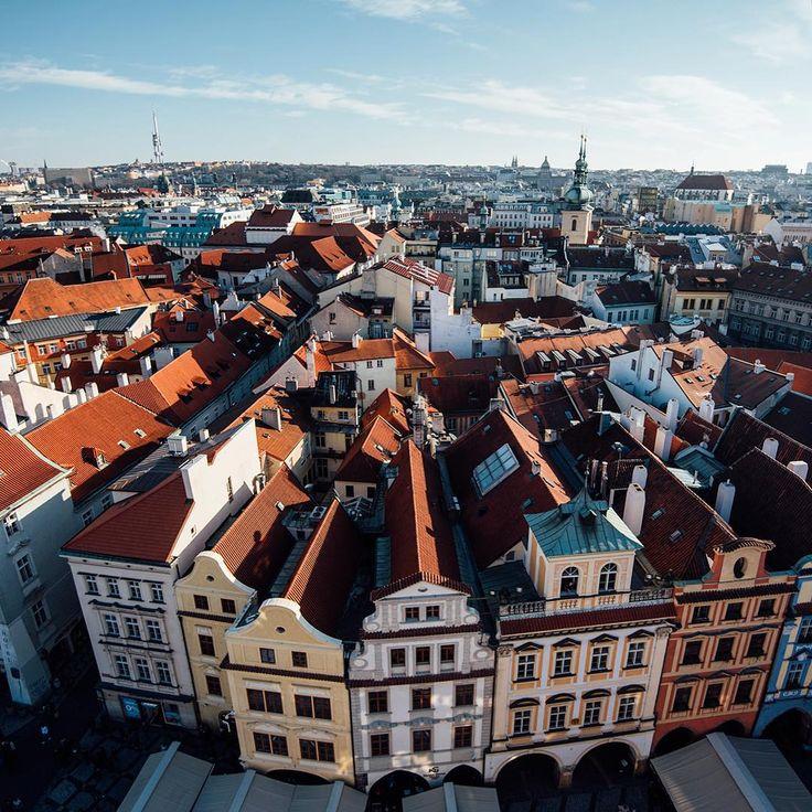 Top 5 des meilleurs points de vue sur Prague : Où les trouver?