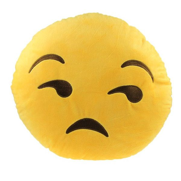 Whatever Sad Emoji Pillow