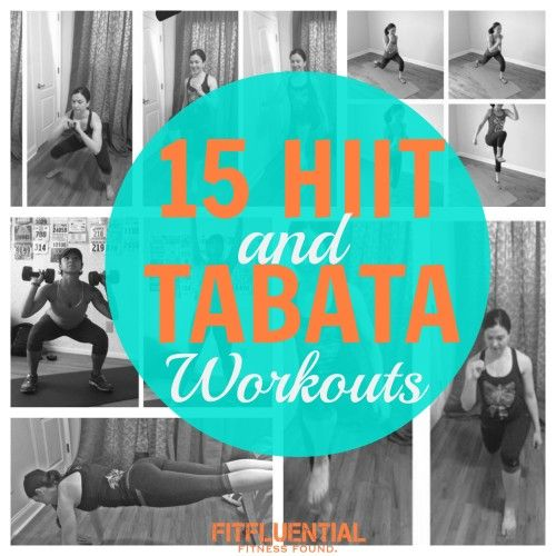 HIIT and TABATA #Workout Roundup - Intense cardio for maximum fat and calorie burn #FitFluential