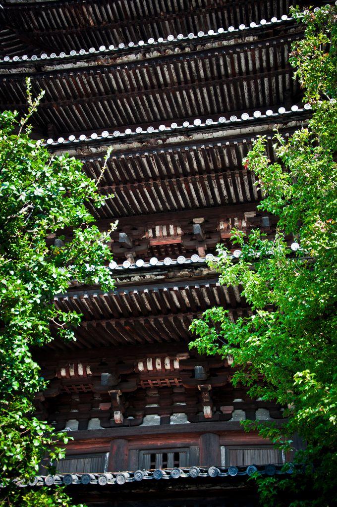 Five-story pagoda, Yasaka-no-to, Kyoto, Japan