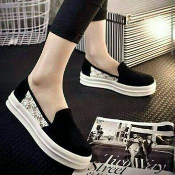 Sepatu Poxing Wedges Wanita Casual  - Blanja.com