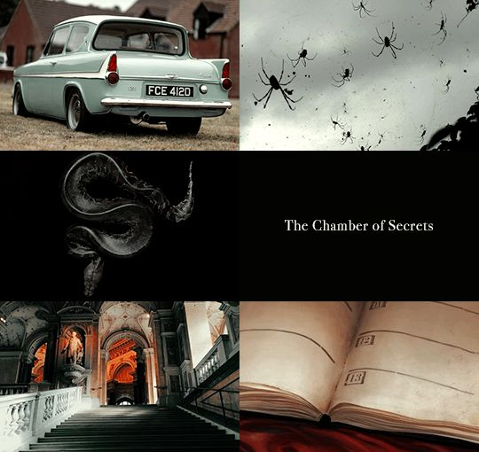 Harry Potter aesthetics: Yr 2
