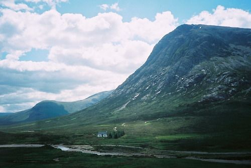 Cottage in the Scottish Highlands.Contributed by Martha Schlee...