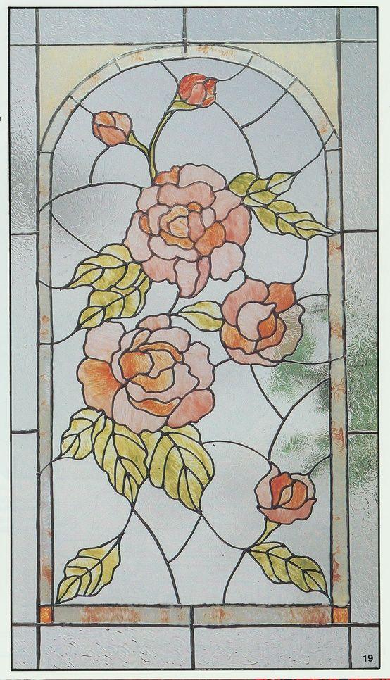 надёжная картинки витражей с цветами сияющего