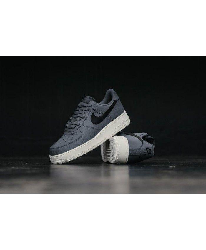 sélection premium 0f745 a0cc8 Nike Air Force 1 '07 Carbone Léger / Noir / Blanc Sommet ...