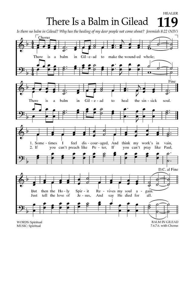Baptist Hymnal 2008 119. Sometimes I feel discouraged - Hymnary.org