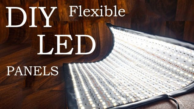 If you're looking for a great way to light your photo and video shoots, this DIY super bright LED panel can be molded to shed light anywhere you need it. You can even swap between warm and cool lighting with the flick of a switch.