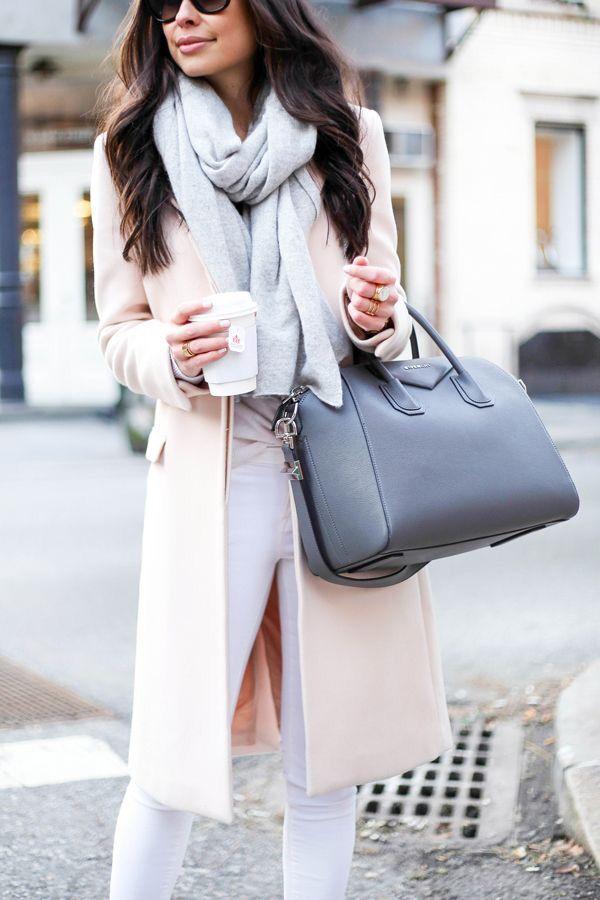 Winter pastels.