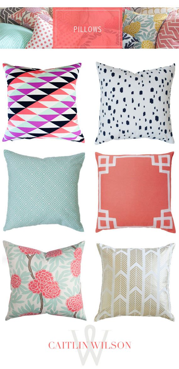 Caitlin Wilson Pillows Home Home Organization Pillows