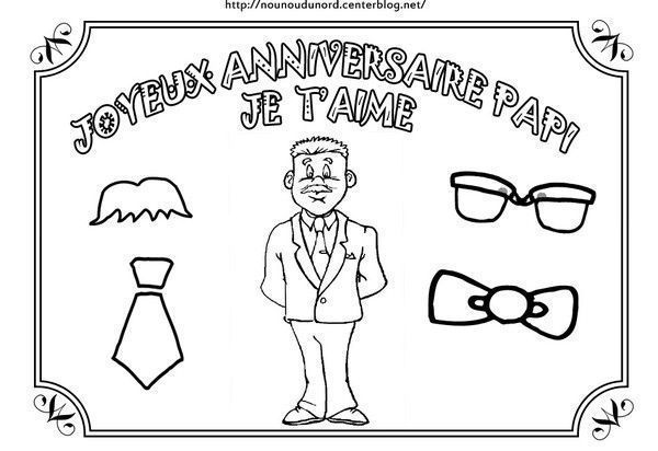 Joyeux Anniversaire Papy Coloriage Home Pictures Free Hd