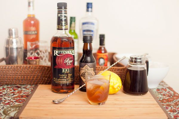 old fashionedHome Bar