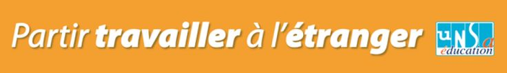 """UNSA Éducation """"Hors de France""""   Le WordPress de la fédération UNSA Éducation et de ses syndicats pour partir travailler à l'étranger."""