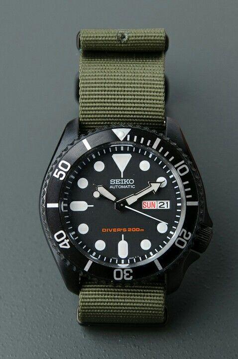 Custom blacked out Seiko 007
