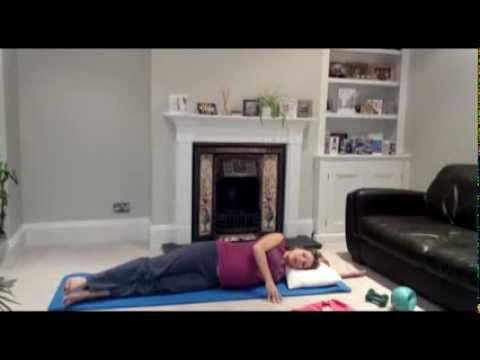20 mins Pregnancy Pilates routine to keep you in shape and mobile throughout your pregnancy from pilatespluswellness.