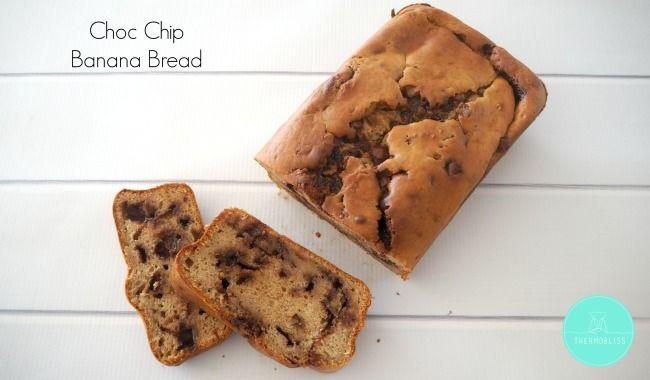 Thermomix Chocolate Chip Banana Bread