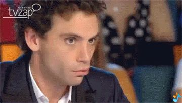 ANIMATED GIF Mika being funny on X Factor