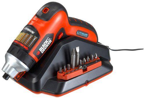 Electrodomestico - Black and Decker AS36LN-QW – Destornillador eléctrico -  http://tienda.casuarios.com/black-and-decker-as36ln-qw-destornillador-electrico-36-v-ion-de-litio-caja/